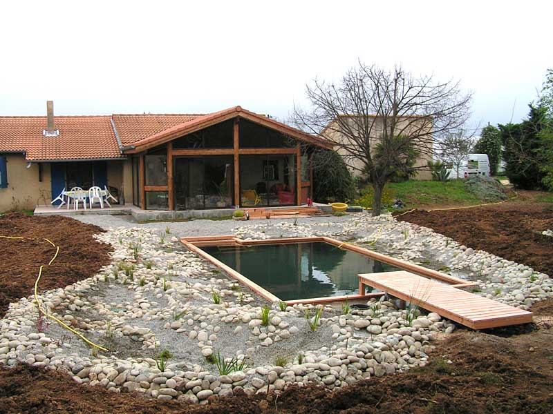 Piscine naturelle 91 for Construction piscine biologique