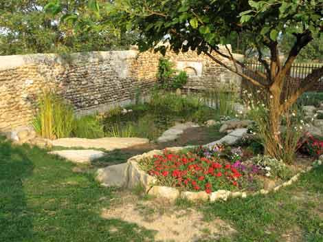 Jardin aquatique et tang de baignade lagune rh ne alpes for Piscine jardin aquatique