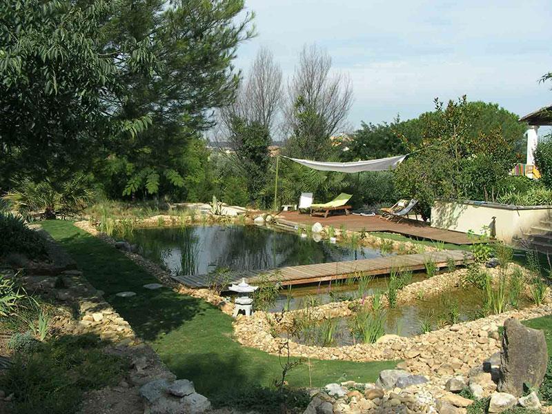 Piscine naturelle cologique lagune for Piscine bois 4x8