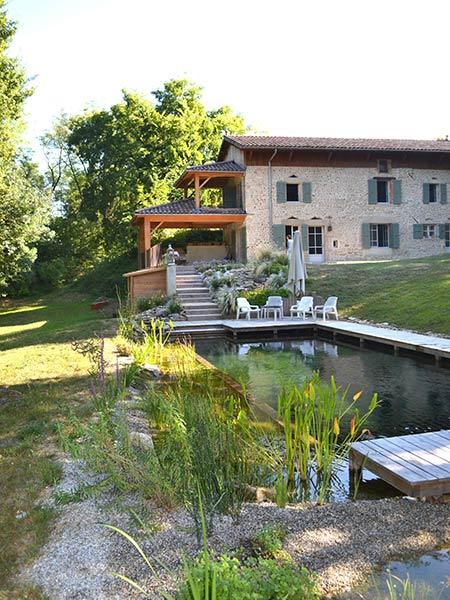 piscine naturelle biologique lagune. Black Bedroom Furniture Sets. Home Design Ideas